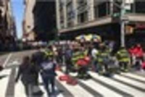 Times Square Incident: 13 injured in New York as car hits...