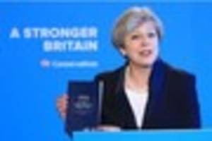 Conservative manifesto 2017: 10 headlines as Theresa May reveals...