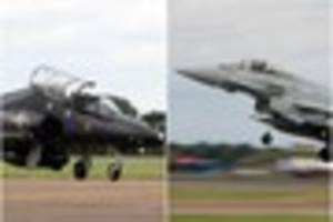 we have lift off! raf to send its most fearsome fighting jets to...