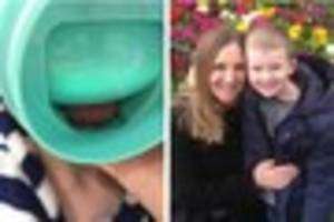A Sevenoaks mum wants Disney to withdraw one of its cups after...