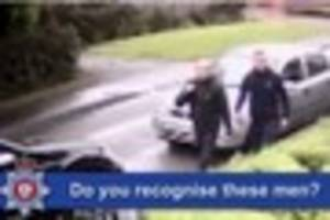 police launch cctv appeal for witnesses of robbery at overseal...