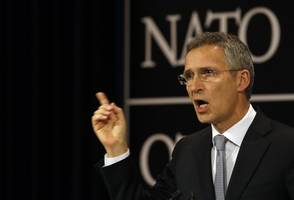 NATO Chief Rules Out Combat Role Against ISIS Militants