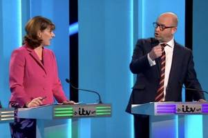 leanne wood appeared on a tv debate and the leader of ukip called her natalie