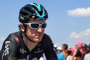 team sky implement safety-first policy for geraint thomas during stage 12 of the giro d'italia