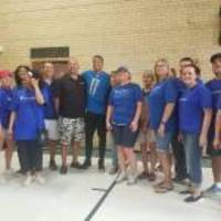 Detroit Lion Marvin Jones Jr. and UnitedHealthcare Renovate Gymnasium at J.E. Clark Preparatory Academy