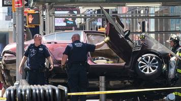 times square crash: how it unfolded