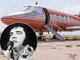 elvis' jet for sale after sitting for 30 years in roswell