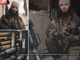 isis video shows call for attacks on us soil
