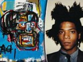 jean-michel basquiat work sells for record $110million