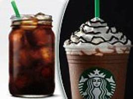 the unhealthiest summer drinks at coffee shops revealed