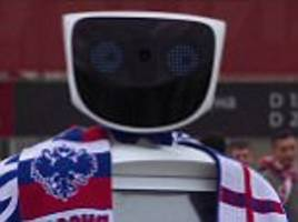 robot will protect fans from russian world cup hooligans