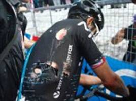 Geraint Thomas withdraws from Giro d'Italia with injuries