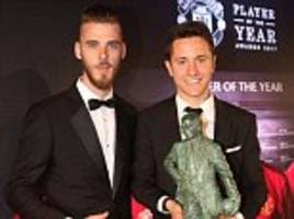 man utd player of the year ander herrera snubbbed by spain