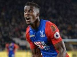 Wilfried Zaha returns to Manchester United a star player
