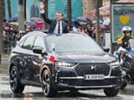 ray massey: citroen rolls out a car fit for a president