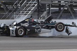 Every crash this week during Indy 500 practice