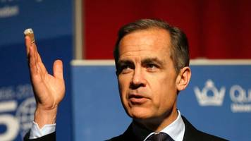 ex-goldman banker taking over the fed? mark carney spotted at the white house