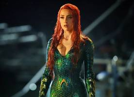 see first photos of amber heard as mera in 'aquaman'