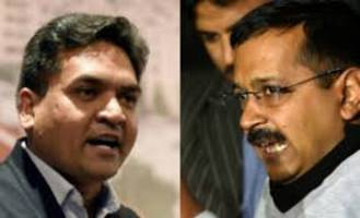 Kapil Mishra accuses Kejriwal of indulging in corruption