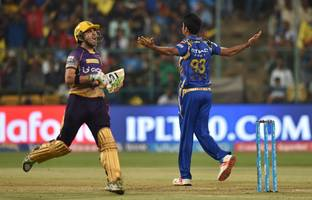 Mumbai Indians beat Kolkata Knight Riders by 6 wickets to enter final