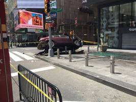 Times Square Driver Faces Murder Charges, Police Say