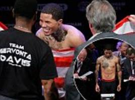 gervonta davis makes weight at the third time of asking