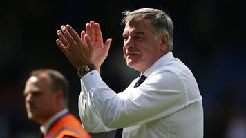 allardyce puts 'past in the past' with palace survival