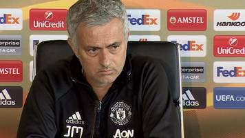 manchester united: jose mourinho selects 'not ready' youngsters for crystal palace match