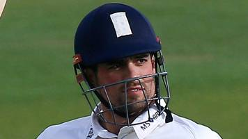essex v hampshire: alastair cook century puts hosts on top
