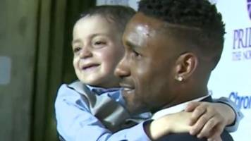 bradley lowery named child of courage at award ceremony