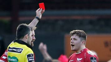 Scarlets wing Steff Evans' Wales tour worry after red card