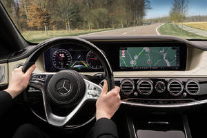 Mercedes Benz is building cars that know the road better than you