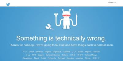 It's not just you: Twitter is down
