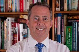 liam fox - conservative candidate for north somerset in general election 2017