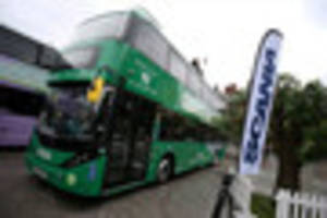 renewable energy fueled buses to launch in nottingham