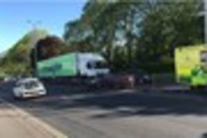 alma road to close as a result of crash - live updates