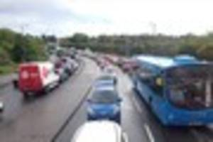 Rush-hour 'nightmare' as Plymouth grinds to a halt AGAIN