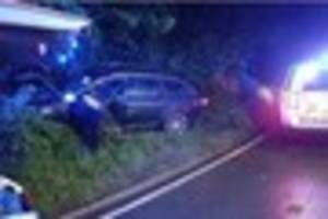 brentwood driver wasn't wearing a seatbelt when he smashed his...