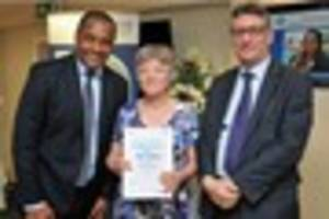 'Inspirational' volunteers and staff at Croydon hospitals...