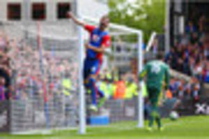 crystal palace midfielder set to face club team-mates on...