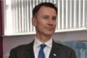health secretary jeremy hunt has responded to concerns after...