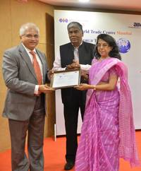 noel n tata felicitated for tata international's outstanding performance in international trade