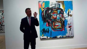 basquiat painting sells for $110.5m in new york