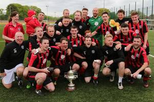 dalbeattie star's ritchie maxwell ends career with winning goal in south of scotland challenge cup final