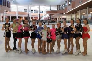 ice skating: east kilbride's olympia stars among the medals at blackpool open