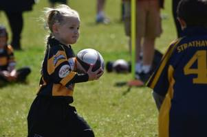 rugby: east kilbride's minis claim trophy at home tournament