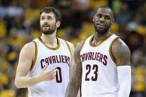 Lebron James Senses Kevin Love's 'Mentality From Minnesota'; Cavaliers Considers Several Scoring Options For Game 2 Against Celtics