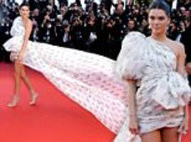leggy kendall jenner steals the show in a fashion