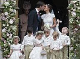 Pippa's £700,000 nuptials included TWO dresses