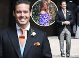 Spencer Matthews attends James' wedding to Pippa Middleton